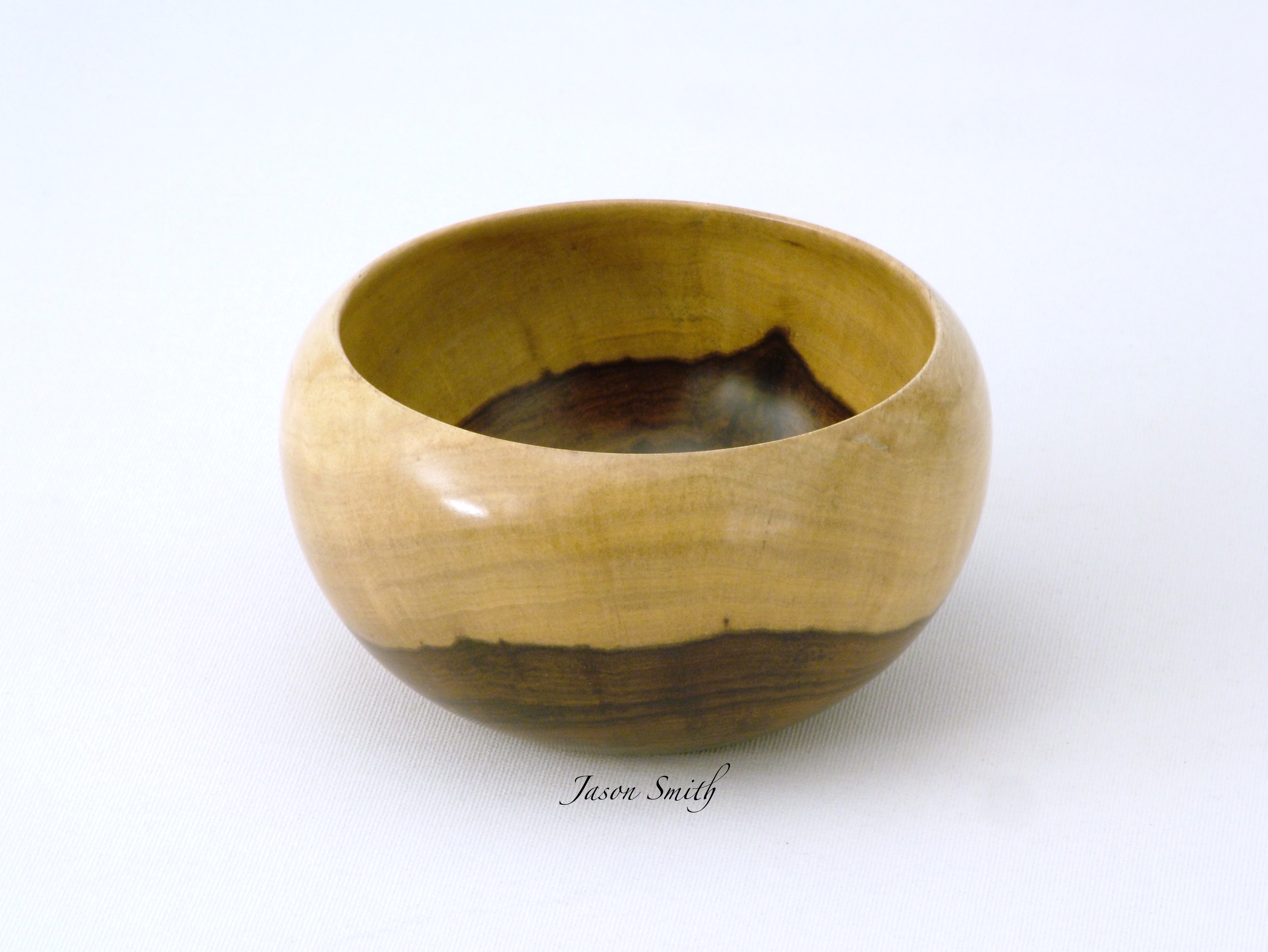 Detail View of a rare Tamboti Bowl