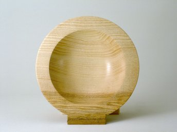 simply Beautiful limed Ash fruit bowl
